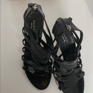 Gucci Leather Vintage heels